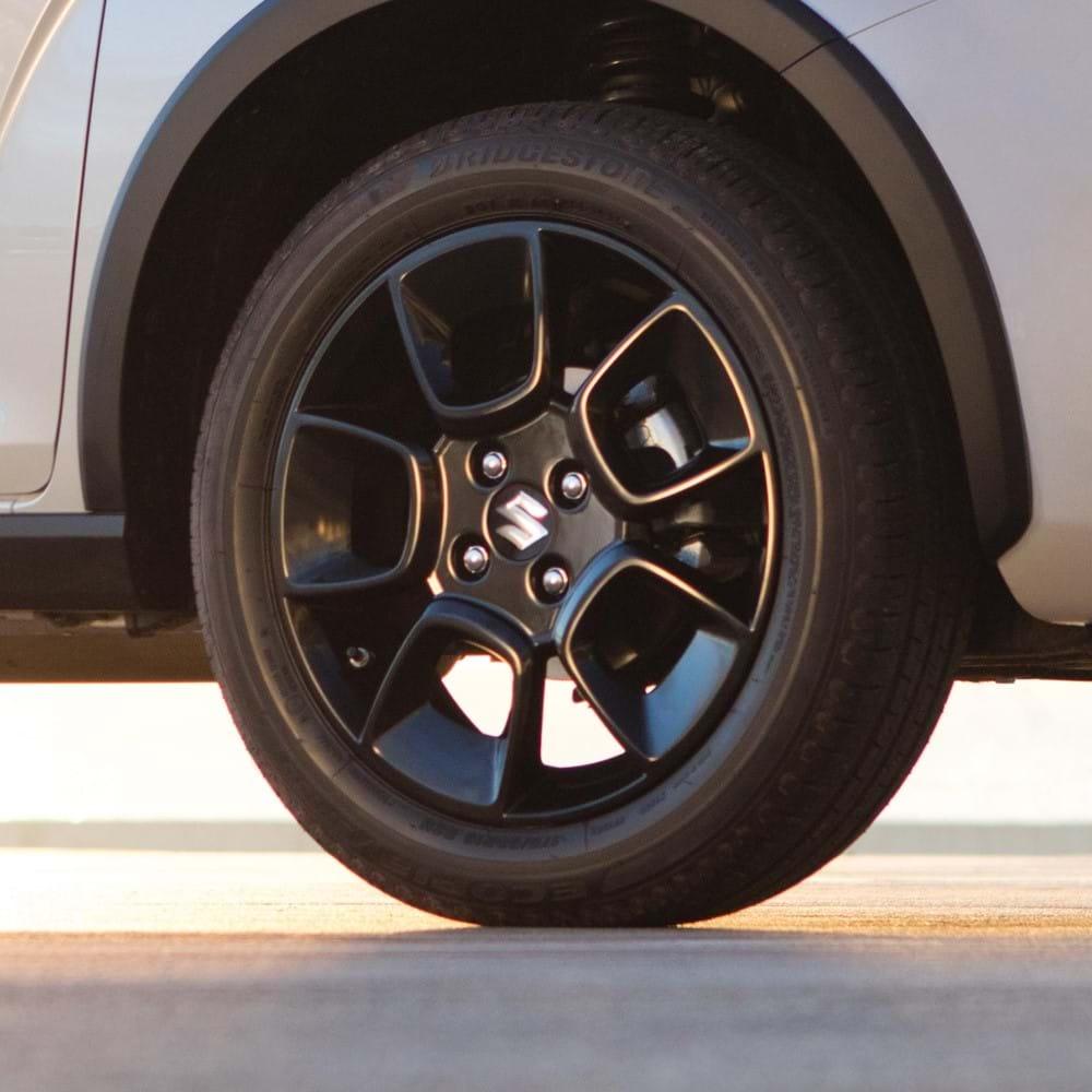 """Suzuki Ignis 16"""" alloy wheels shot"""