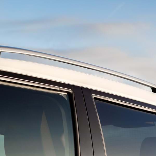 Roof rails on the Suzuki Ignis