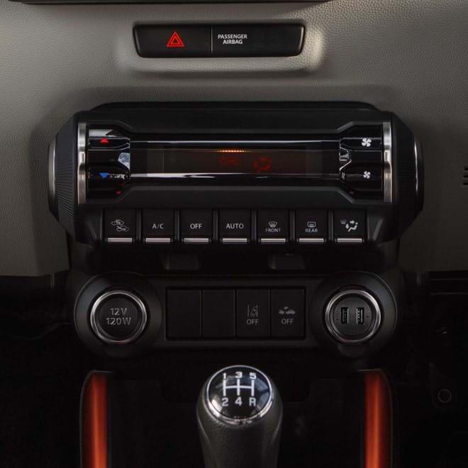 Suzuki Ignis Air conditioning system