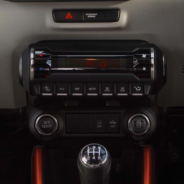 Suzuki Ignis Air conditioning system