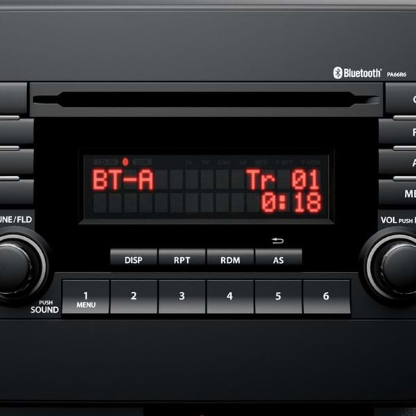 Shot of the Bluetooth dashboard device