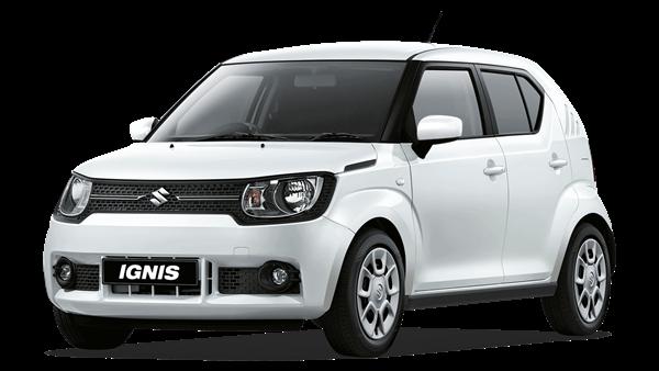 A white suzuki Ignis sz-3