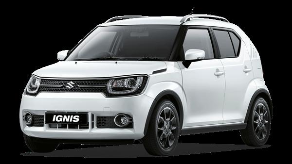 A white suzuki Ignis sz-5