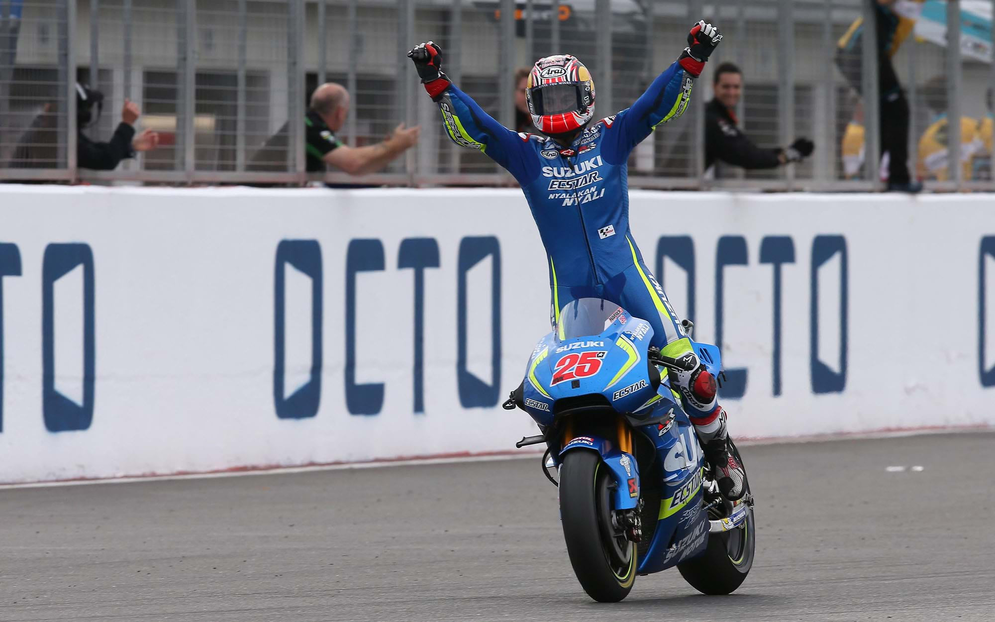 Suzuki win British GP at Silverstone