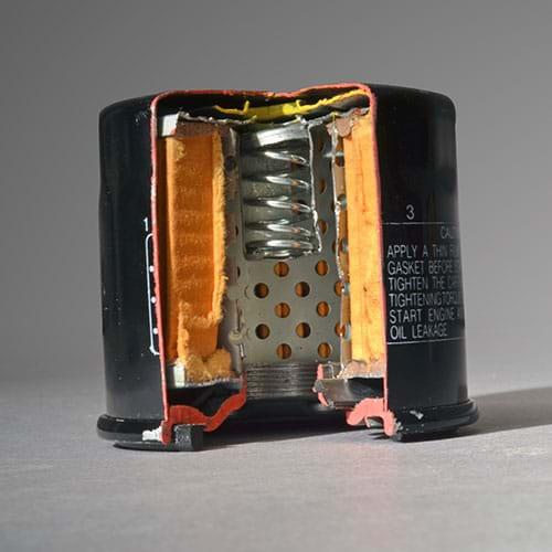 Non-Genuine Oil filter