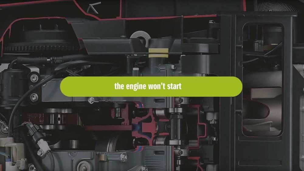 Engine won't start