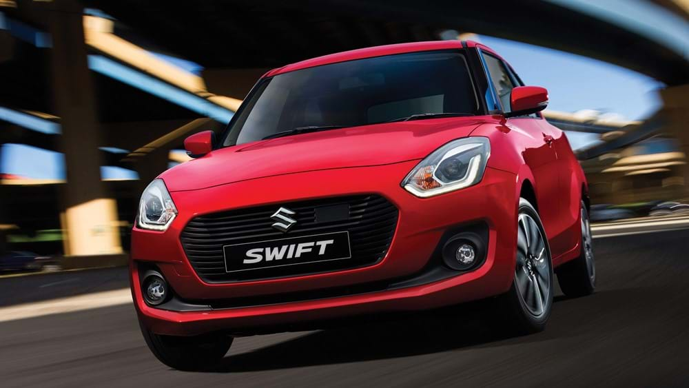 Suzuki Swift: 10 colour options to choose from