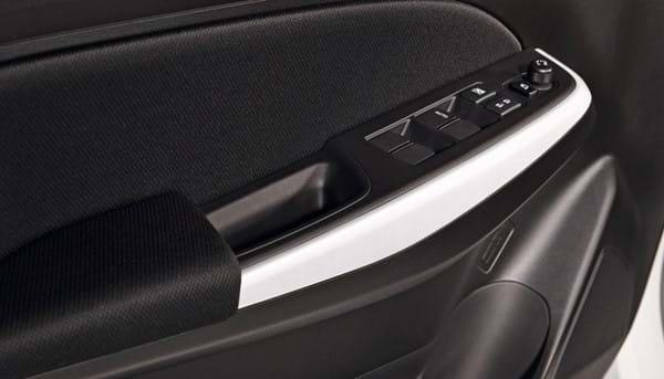 Swift interior door handle