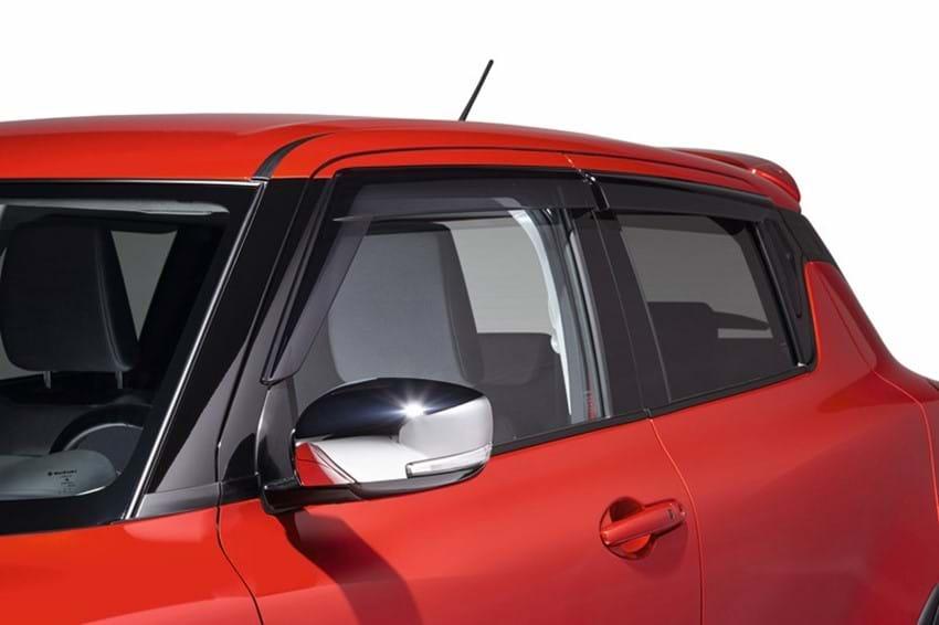 Swift front window
