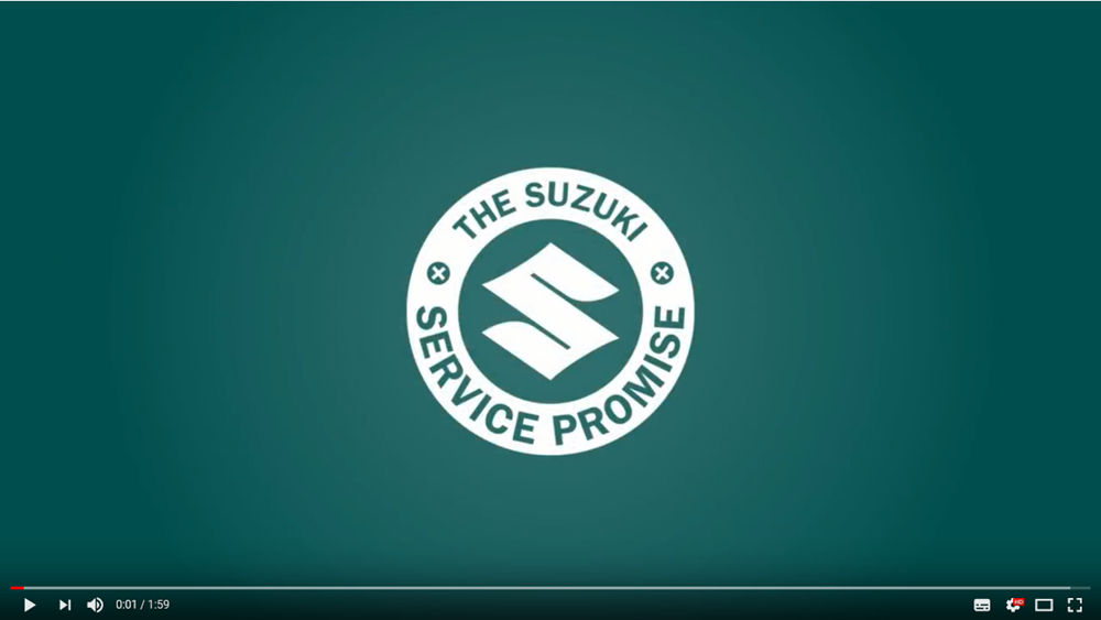 The Suzuki Service Promise